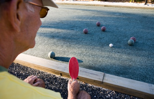 Lawn Bowling at Lakeview Golf Course
