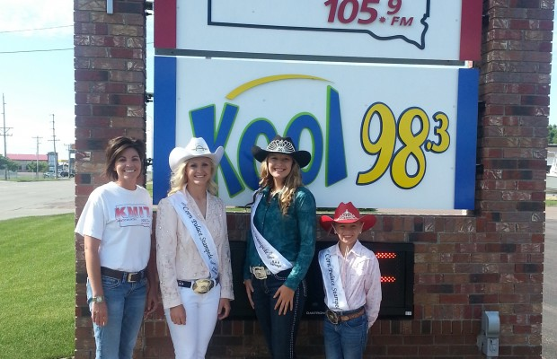 Corn Palace Stampede Rodeo Queens 2013