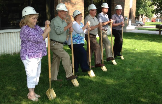 Library Groundbreaking Held Friday Morning