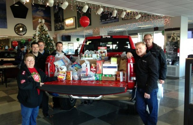 """Iverson's of Mitchell """"Stuff the Truck"""" Food Drive"""